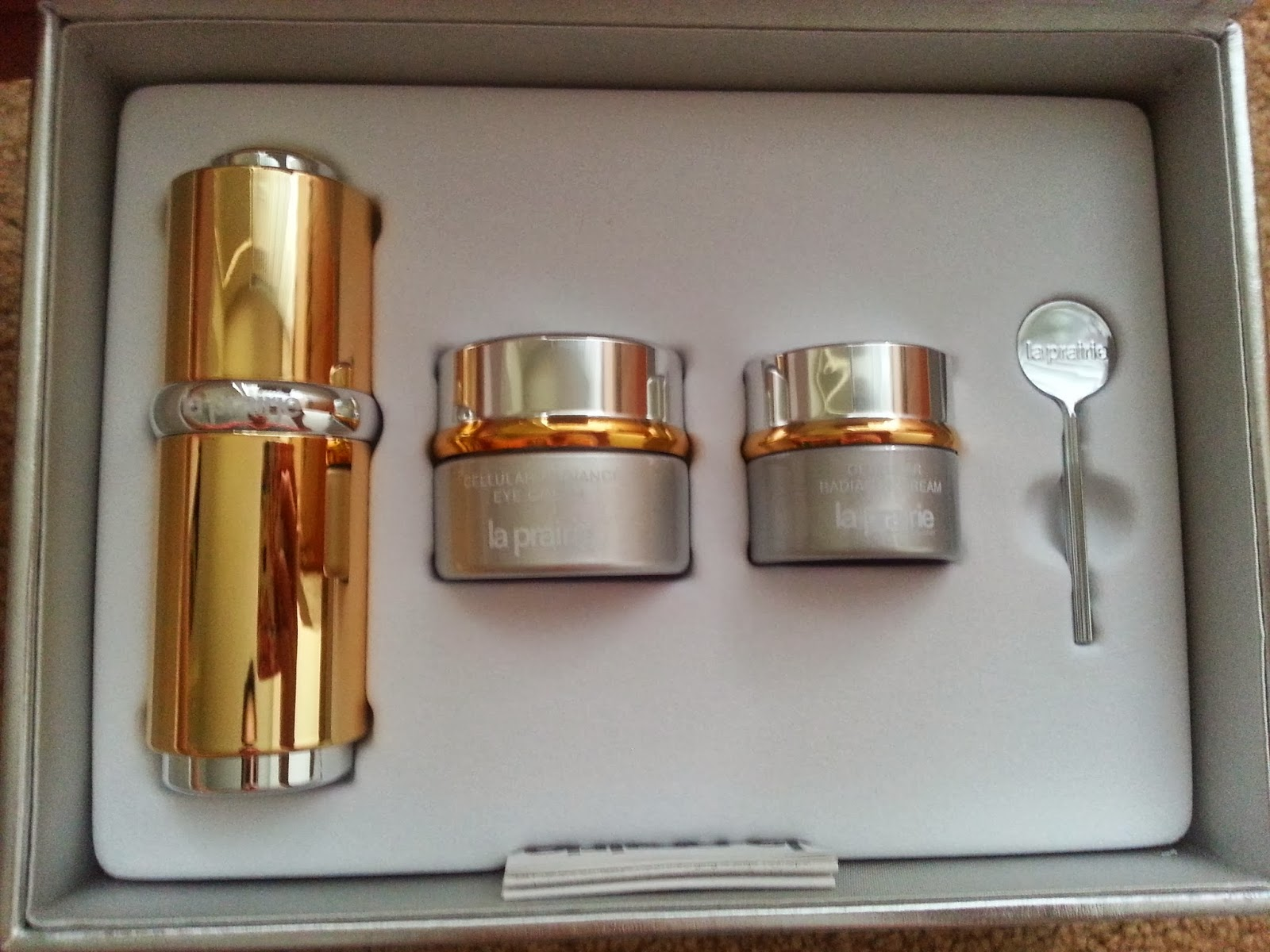 La Prairie Cellular Gold Radiance