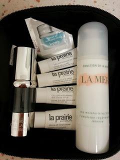 La Prairie & La Mer skin care