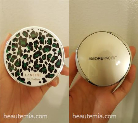 Laneige BB cushion & Amore Pacific Color Control CC cushion