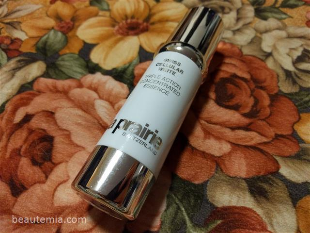 La Prairie Swiss Cellular White Triple Action Concentrated Essence & Protective Day Emulsion SPF 25