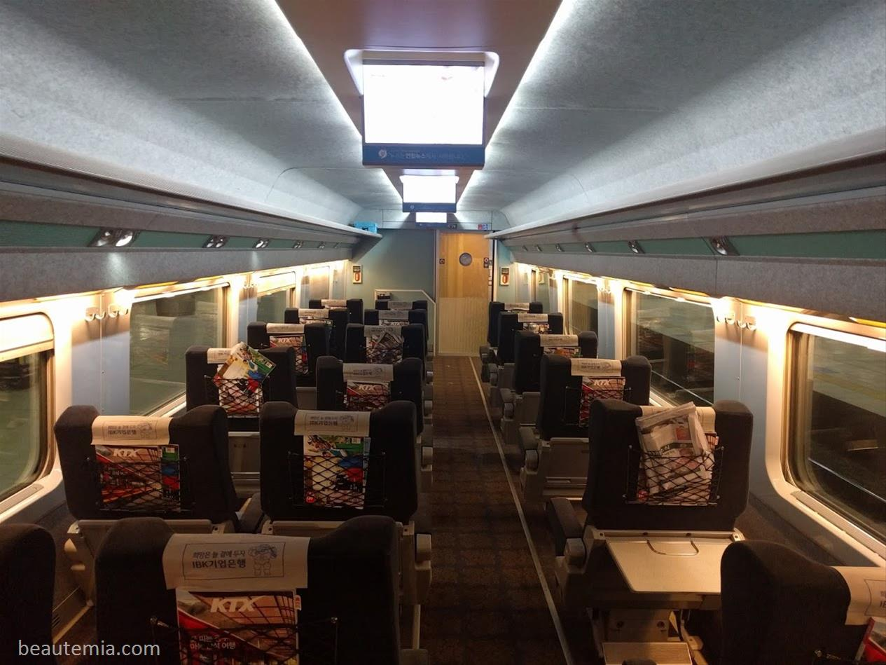Ktx First Class Review Korea Train Express Korail