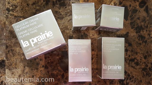 La Prairie skincare, Cellular Platinum Rare & Cellular Radiance