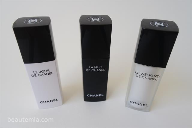 Le Jour de Chanel, La Nuit de Chanel & Le Weekend de Chanel