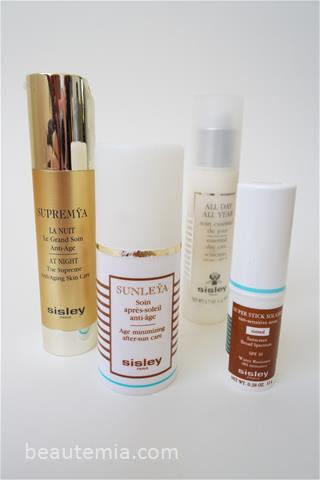 Sisley skincare & Sisley Sunleÿa Age Minimizing After-sun Care