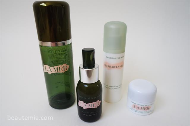 La Mer Serums, Moisturizers, The Treatment Lotion, The Concentrate, The moisturizing soft cream & The Oil absorbing Lotion