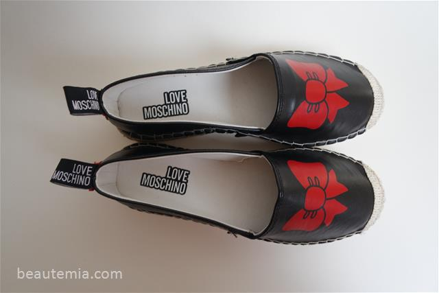 Love Moschino Bow espadrilles