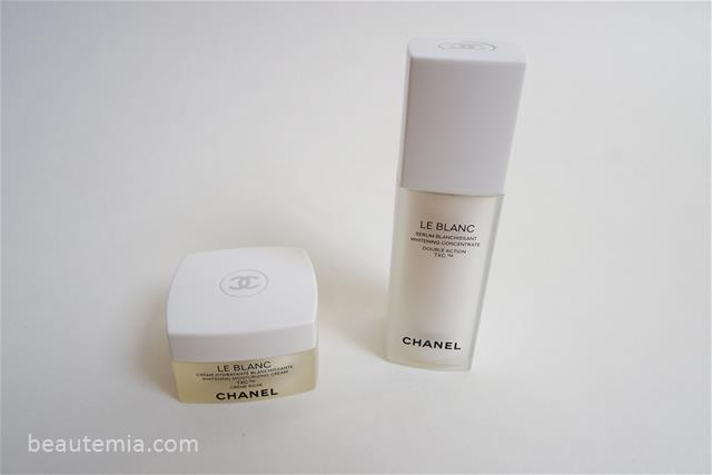 Chanel LE BLANC Brightening Concentrate Double Action TXC & Moisturizing Cream TXC