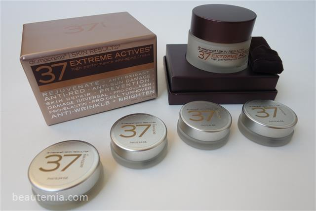 37 EXTREME ACTIVES High Performance Anti-Aging Cream & 37 EXTREME ACTIVES EXTRA RICH High Performance Anti-Aging Cream