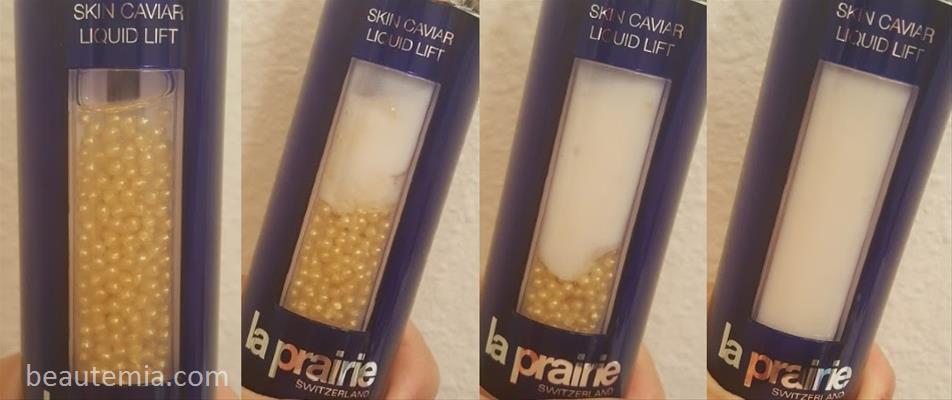 La Prairie Skin Caviar Liquid Lift & La Prairie serum
