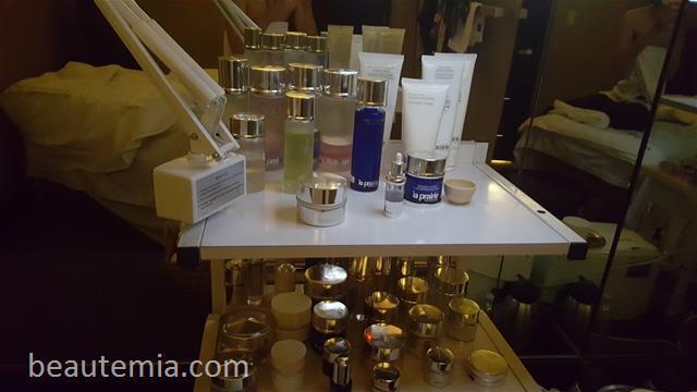 La Prairie spa, facial & skin caviar
