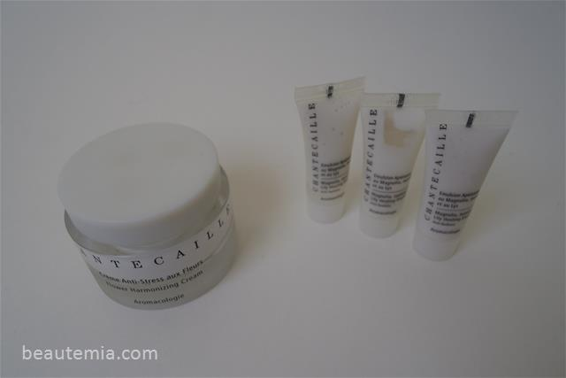 Chantecaille Flower Harmonizing Cream & Magnolia, Jasmine and Lily Healing Emulsion