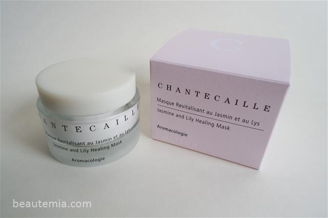 Chantecaille Jasmine and Lily Healing Mask & skincare