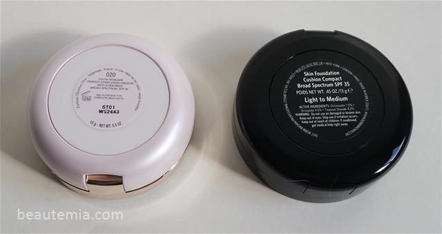 Bobbi Brown Skin Foundation Cushion Compact SPF 35 & Dior Capture Totale Dream Skin Perfect Skin Cushion SPF 50