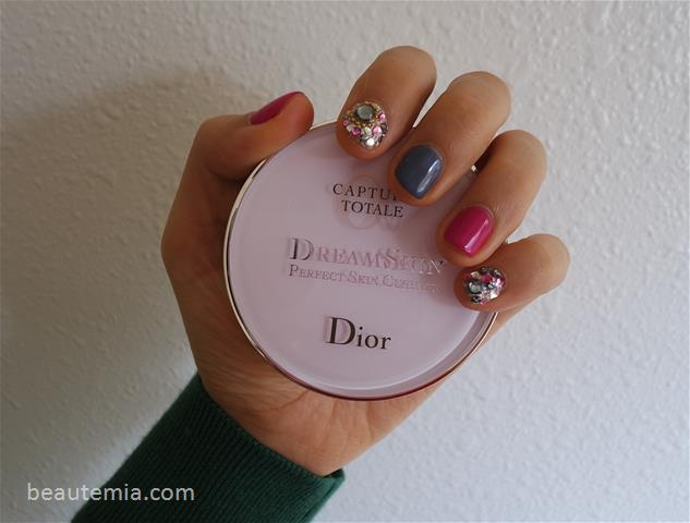 Dior Capture Totale Dream Skin Perfect Skin Cushion SPF 50 & nail art