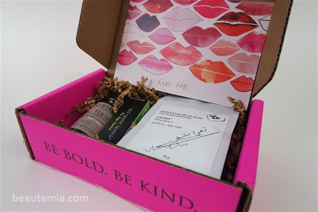 Petit Vour monthly box, beauty subscription, October box