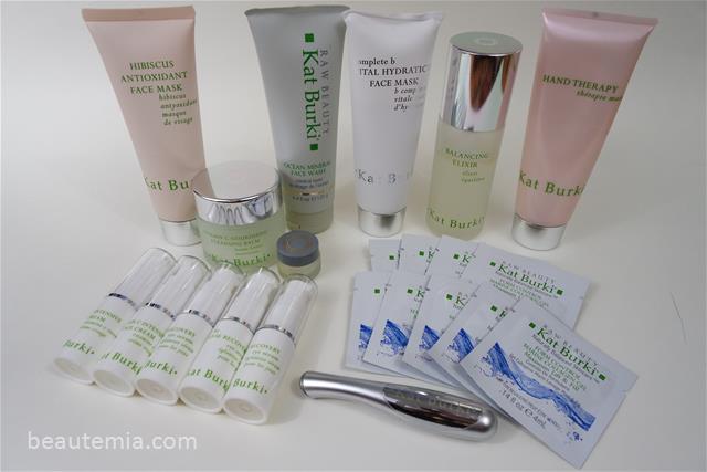 Kat Burki Balancing Elixir, Vitamin C Intensive Face Cream & skincare