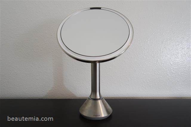 Simplehuman 8 Inch Lighted Sensor Magnifying Makeup Mirror