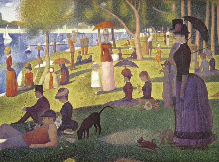 A Sunday Afternoon on the Island of La Grande Jatte & Georges Seurat