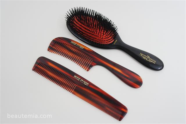 Mason Pearson hair brush, comb & luxury hair care