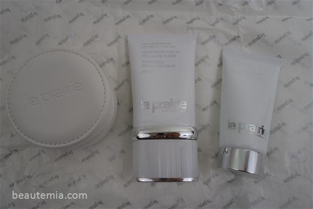 La Prairie Cellular Swiss UV Protection Veil Sunscreen SPF 50, Anti-Aging Eye and Lip Perfection À Porter, Cellular Hand Cream & skincare