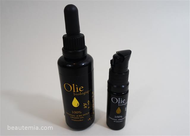 Olie Biologique 100% USDA certified Organic Argan Oil & 23K Gold Argan Oil