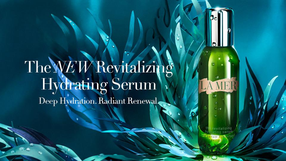 ผลการค้นหารูปภาพสำหรับ la mer revitalizing hydrating serum
