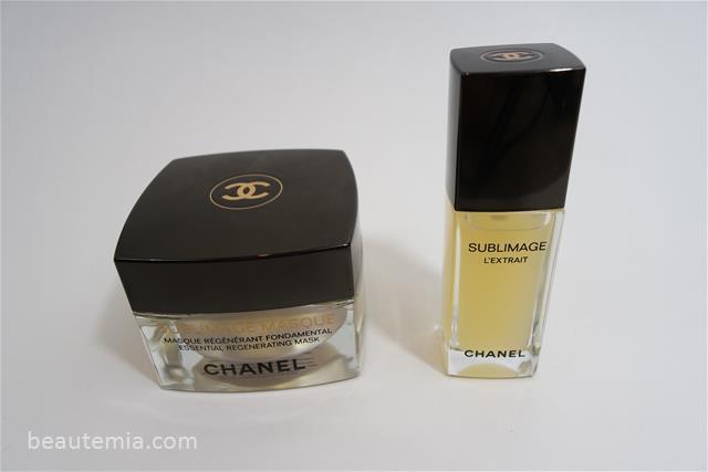 Chanel Sublimage Masque, L'extrait & skincare