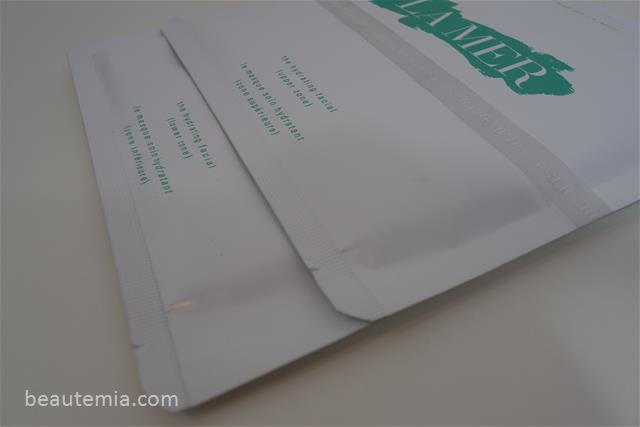 La Mer The Hydrating Facial, sheet mask & skincare