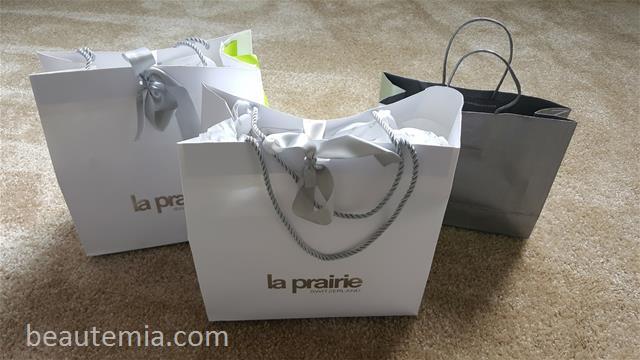 La Prairie skincare, La Prairie platinum rare facial & Skin Caviar Luxe cream