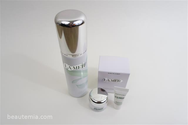La Mer The Brilliance Brightening Mask & Blanc de La Mer