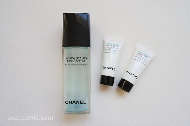 Chanel Hydra Beauty Micro Creme & Hydra Beauty Micro Serum