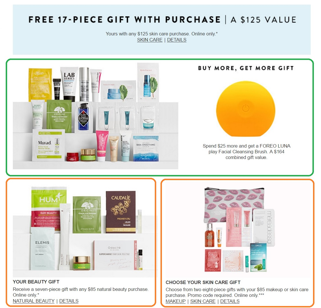 Nordstrom spring beauty event, march, beauty gift with purchase