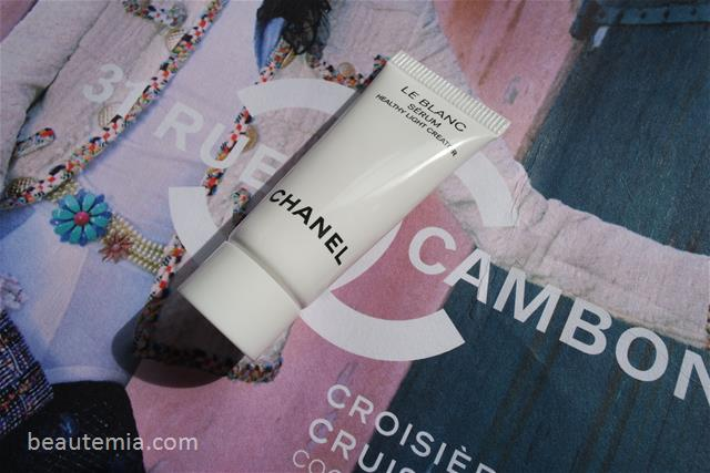 Chanel Le Blanc Serum Healthy Light Creator, skincare & La Mer
