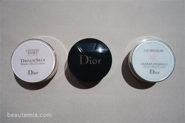 Diorskin Forever Perfect Cushion Foundation SPF 35 PA+++, Dior Capture Totale Dream Skin Perfect Skin Cushion SPF 50, DIORSNOW Bloom Perfect Brightening Perfect Moist Cushion SPF 50, Dior CC cushion & Dior makeup