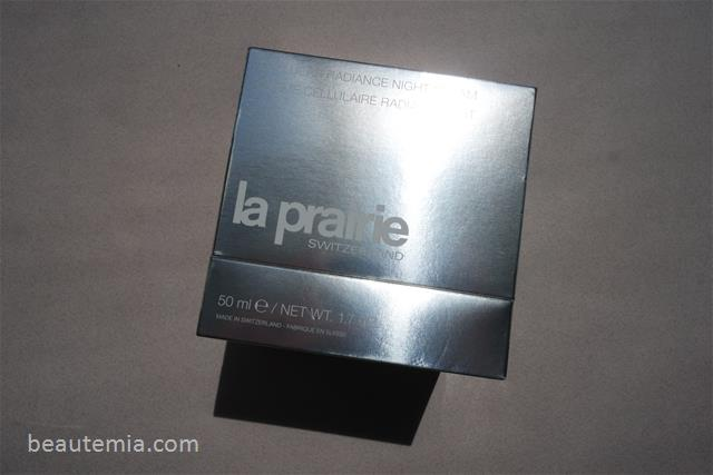 La Prairie Cellular Radiance concentrate pure gold, fluide pure gold & Night Cream pure gold & skincare