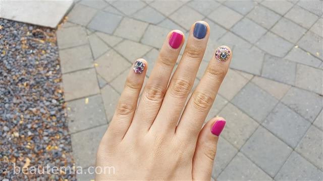 Summer nail, gel nail art, japanese nail art, pretty nails & Sola Studios