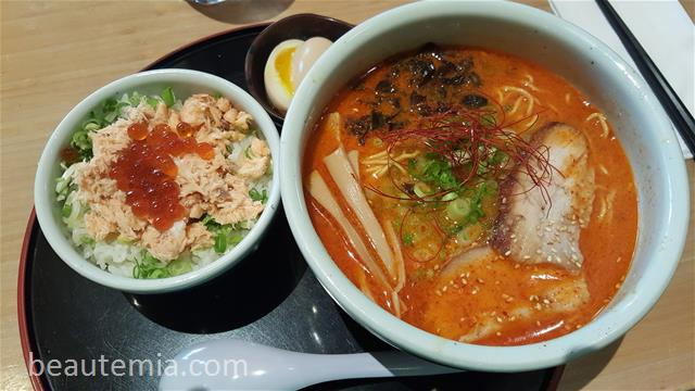Santouka review, japanese noodle, Ramen & Bellevue restaurants