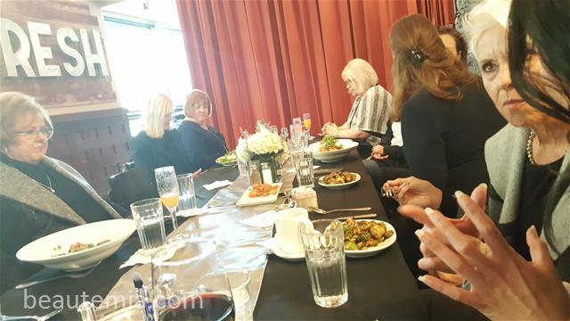 La Prairie skincare, Nordstrom event, Nordstrom beauty event, Nordstrom Bellevue, La Prairie VIP event, La Prairie VIP lunch, La Prairie VIP dinner, La Prairie skin caviar, Palomino Bellevue, italian reastaurant & Swiss Skincare
