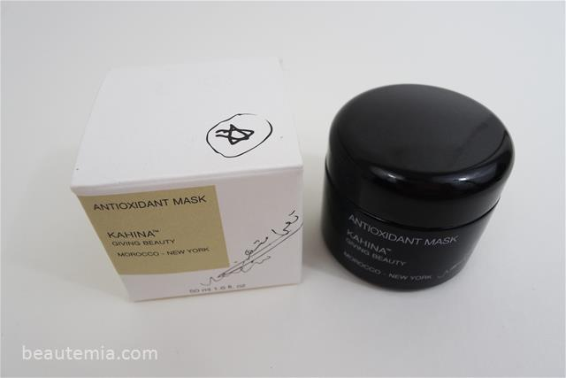 Kahina Giving Beauty skincare, Kahina Giving beauty oil, Kahina Giving beauty Argan oil, Best Argan oil, Gentle deep cleansing mask, best deep cleansing mask, best detoxifying mask, Kahina Giving beauty antioxidant mask & May Lindstrom