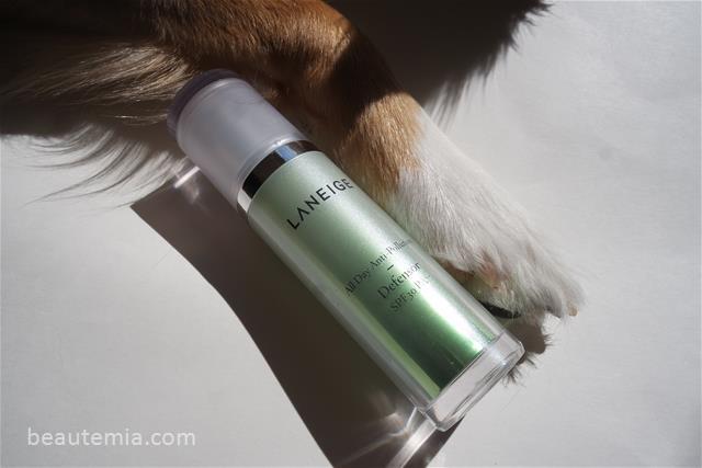 Laneige All Day Anti-Pollution Defensor FPS 30, soin de la peau, essence de laneige, gel du temps, coussin laneige bb, soin de la peau amore Pacific, beauté coréenne et k-beauté