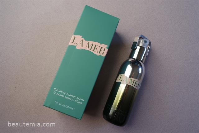 La Mer skincare, La Mer the concentrate, La Mer regerating serum, La Mer The Lifting Contour Serum, La Prairie skin caviar liquid lift, La Prairie skin caviar luxe cream, La Mer creme de la mer, Chanel le lift serum, NuFACE Trinity Facial Toning Device result & NuFACE Trinity Facial Toning Device review