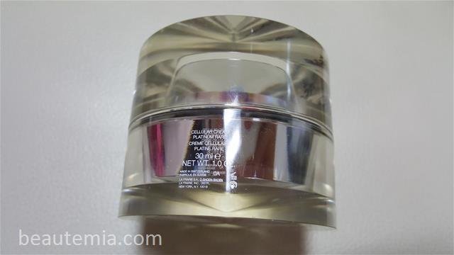 La Prairie skincare, Cellular Cream Platinum Rare, Cellular Serum Platinum Rare, Cellular Platinum Rare Night Elixir & La Mer Genaissance de la mer