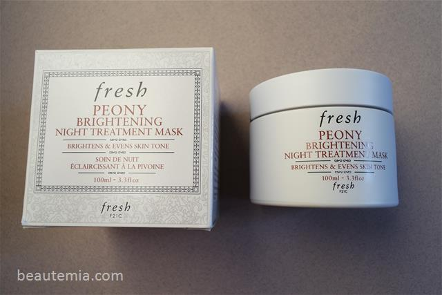 Fresh Skincare, Fresh Rose mask, Fresh overnight mask, Fresh Peony Brightening Night Treatment Mask, May Lindstrom & Kat Burki