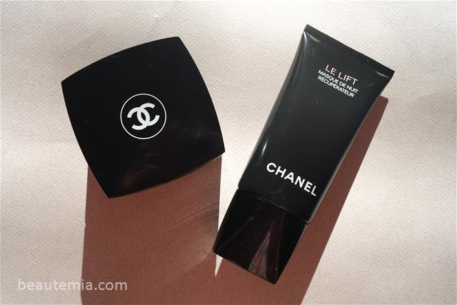 Chanel Le Lift serum, Chanel Le Lift V-Flash, Chanel skincare, Chanel make-up, Chanel Le Lift masque de massage, Chanel Le Lift Skin Recovery Sleep Mask & Chanel Sublimage mask