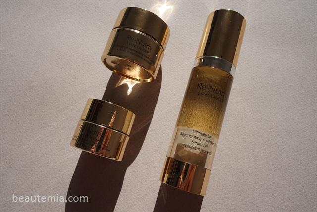 Estée Lauder Re-Nutriv Ultimate Lift Regenerating Youth eye creme, estee lauder perfectionist pro serum, Estée Lauder skincare, estee lauder Re-Nutriv Ultimate Lift Regenerating Youth serum, Estée Lauder night repair serum, estee lauder Re-Nutriv Ultimate Lift Regenerating Youth dew & estee lauder cream