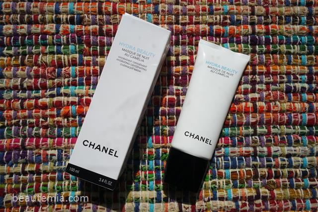 Chanel skincare, chanel Hydra Beauty Masque de Nuit au Camélia, chanel hydra beauty Hydrating Oxygenating Overnight Mask, chanel hydra beauty, chanel hydra beauty micro creme, chanel hydra beauty micro serum, chanel hydra beauty micro liquid essence & chanel mask