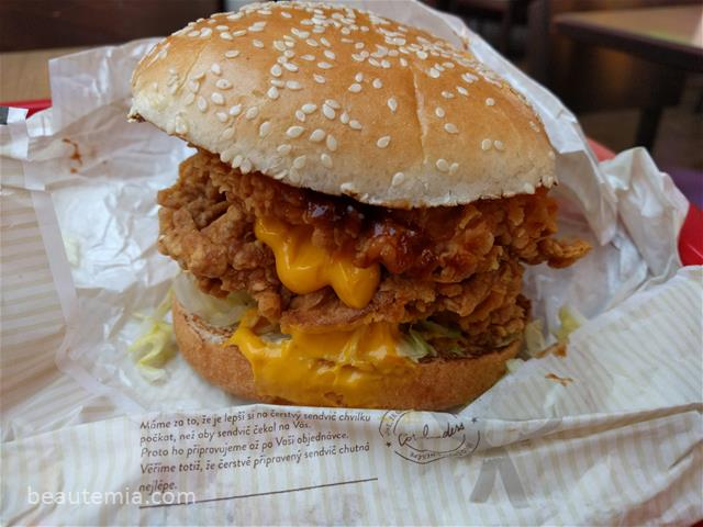 Double BBQ Zinger Burger
