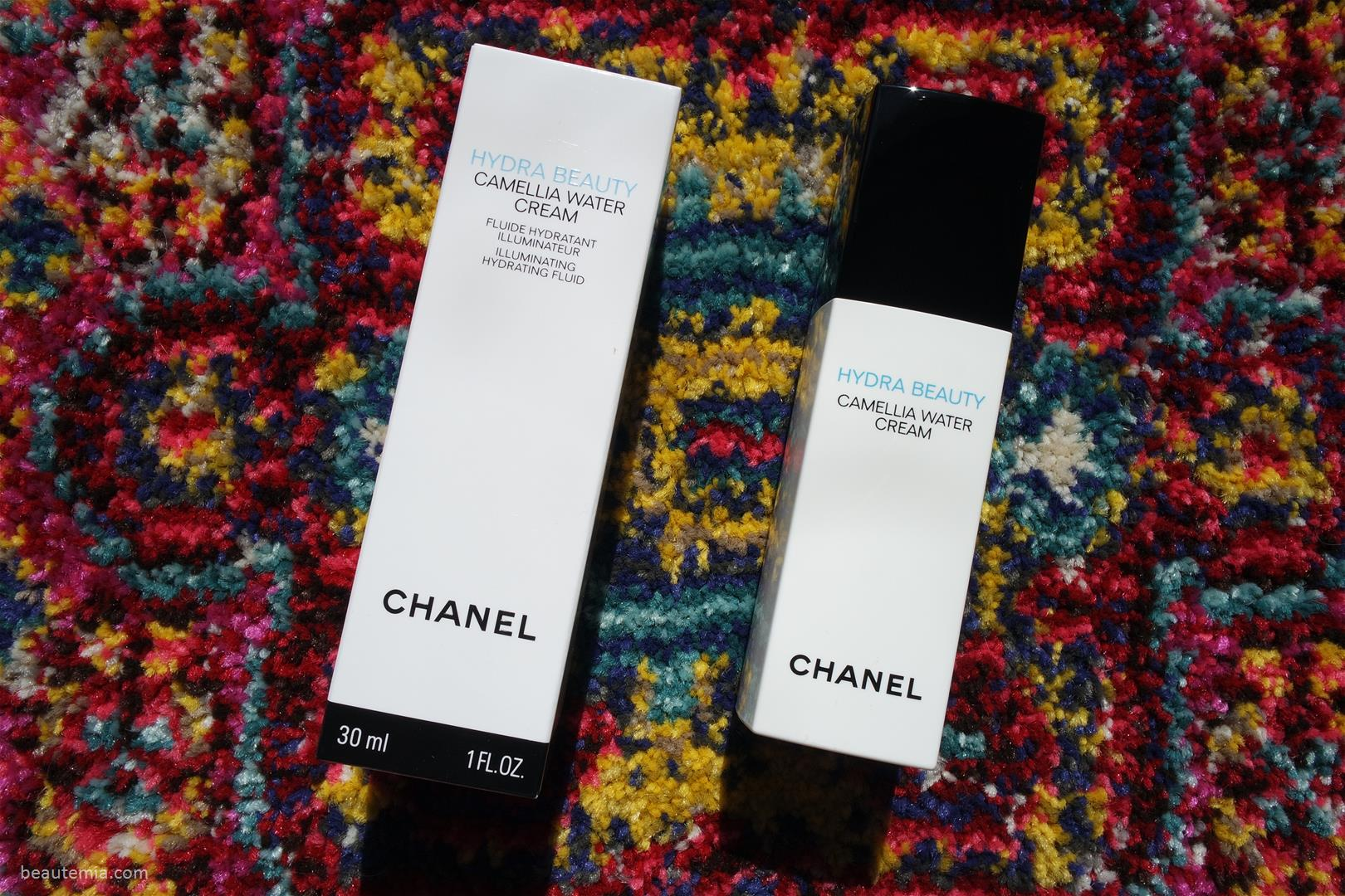 Chanel Review Hydra Beauty Camellia Water Cream Illuminating Hydrating Fluid